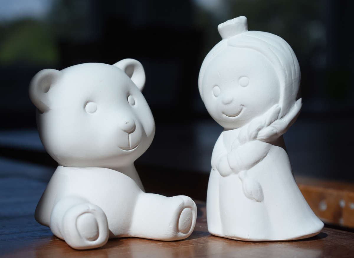 Crown Princess and Teddy Collectible