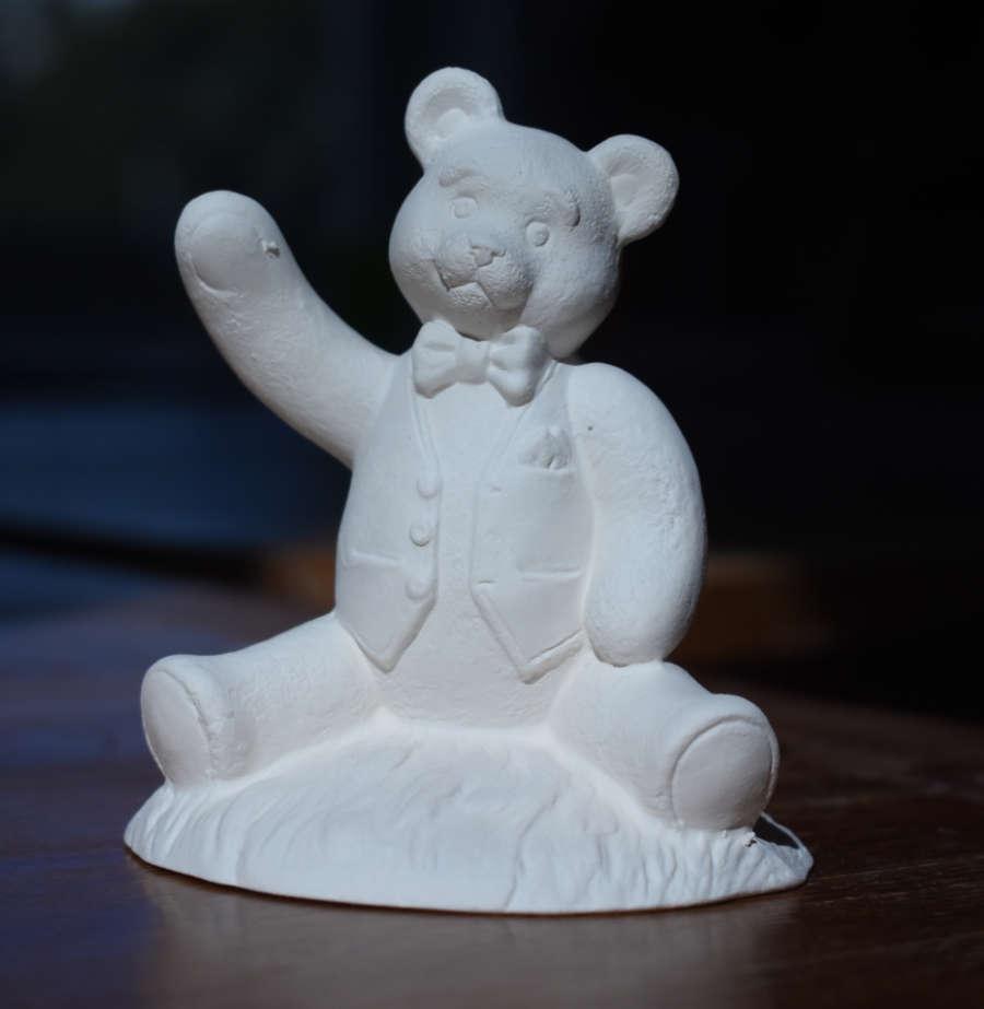 Waving Teddy